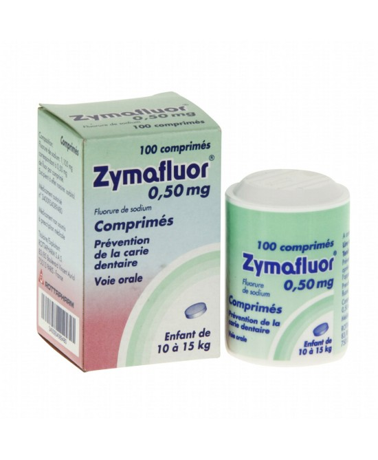 Zymafluor  0,50mg 100 Compresse - Farmawing