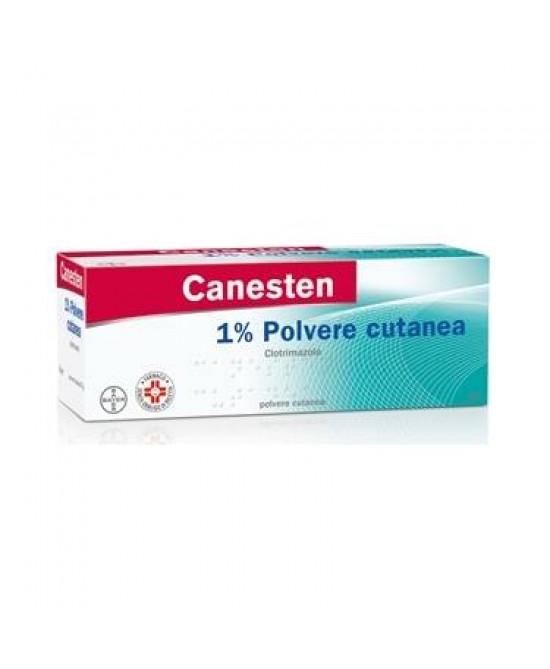 Bayer Canesten 1% Polvere Cutanea Antimicotica Per Funghi Flacone 30g - Zfarmacia