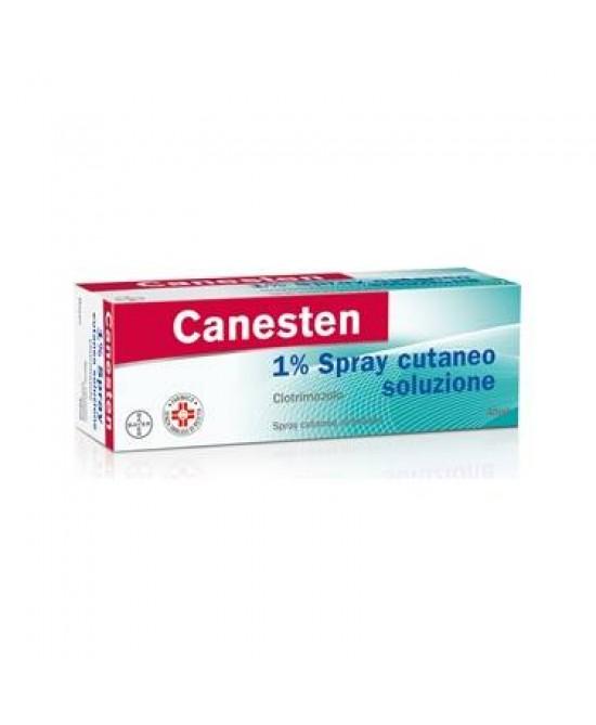 Bayer Canesten 1% Spray Cutaneo Micosi Della Pelle E Delle Pieghe Cutanee Flacone 40ml - Zfarmacia