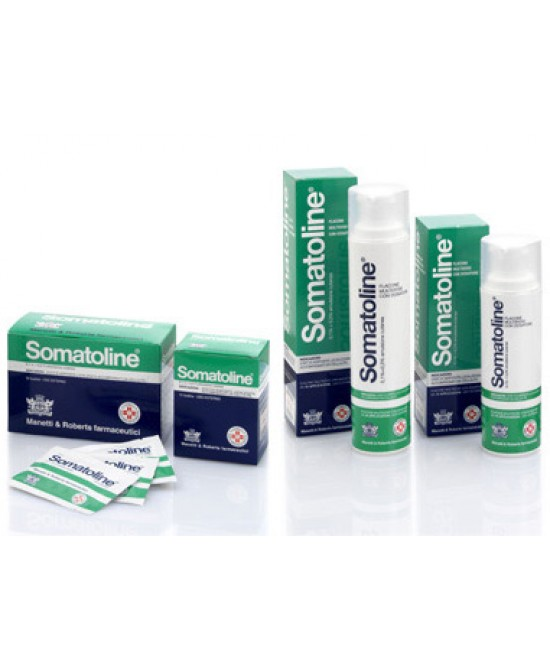 Somatoline 0,1% + 0,3% Emulsione Cutanea 15 Bustine - Farmapage.it