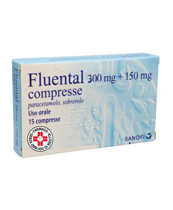 Fluental 300mg+150mg 15 Compresse - Farmastop