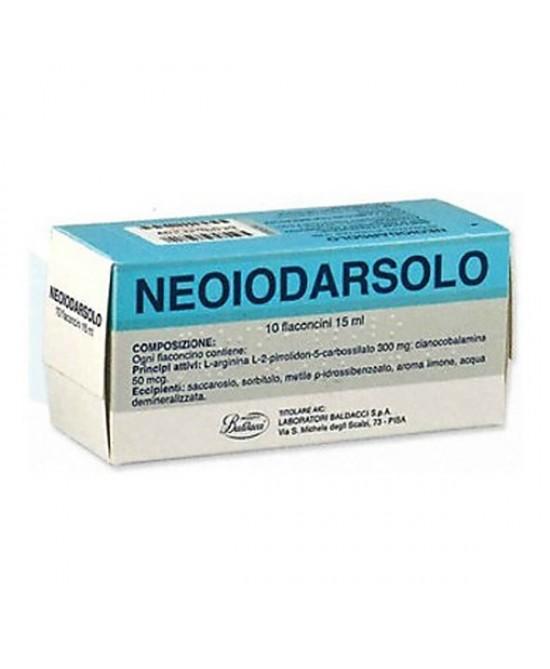 Neoiodarsolo 15ml Soluzione Orale 10 Flaconcini - Zfarmacia