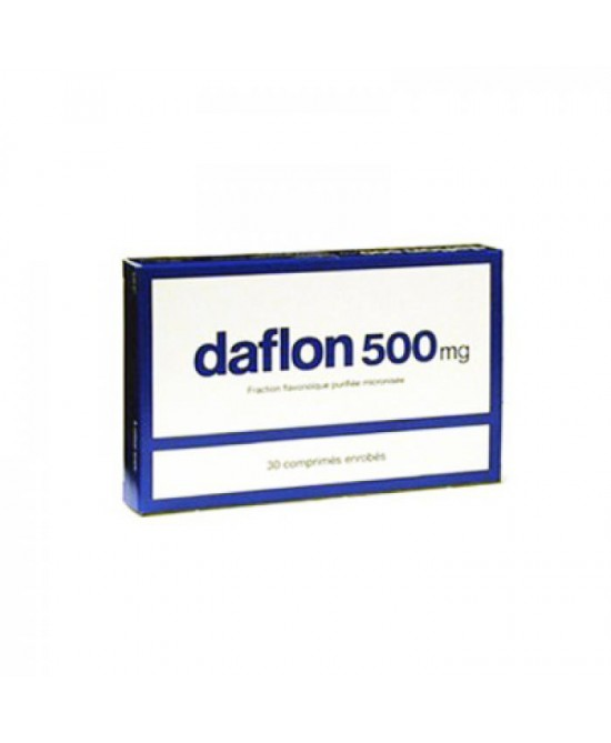 Daflon 500mg 30 Compresse Rivestite - Farmaci.me