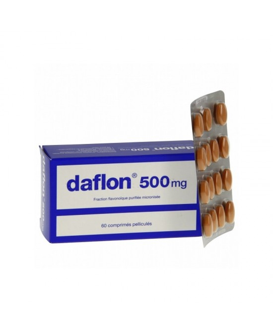 Daflon 500mg 60 Compresse Rivestite - Farmastar.it