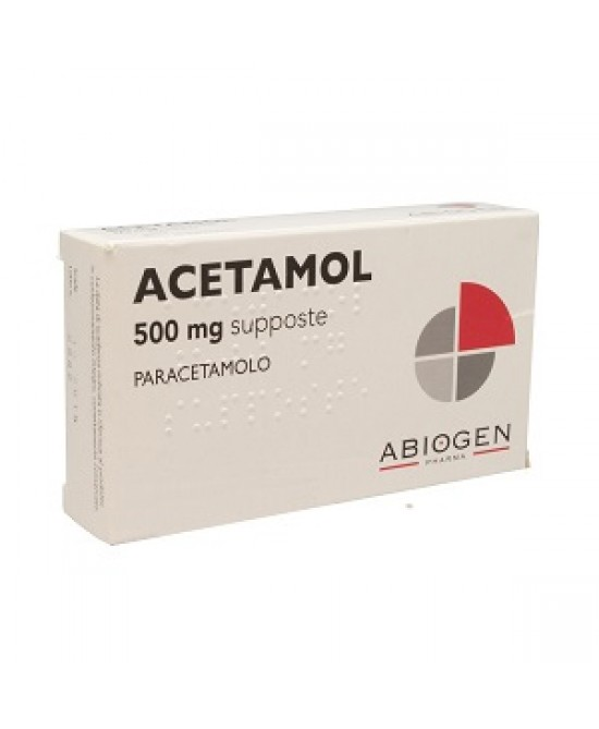 Acetamol 500mg Bambini 10 Supposte - FARMAPRIME