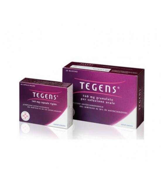 Tegens 160 mg Granulato per Soluzione Orale Insufficienza Venosa 20 Bustine offerta