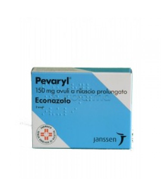 Pevaryl 150 mg Econazolo nitrato 2 Ovuli Vaginali a Rilascio Prolungato offerta