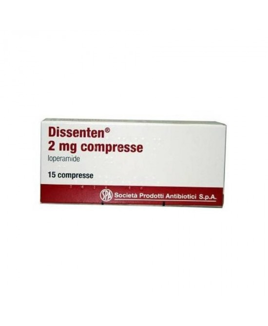 Spa Dissenten 2mg Loperamide 15 Compresse - Farmastar.it