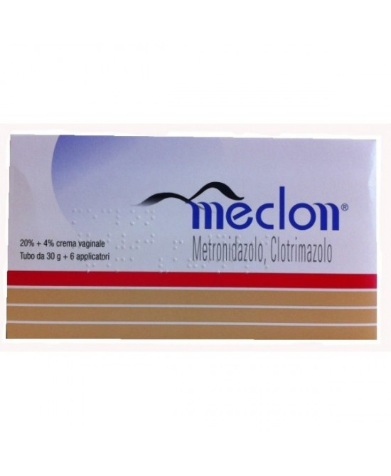 Meclon 20%+4% Crema Vaginale 30g + 6 Applicatori - FARMAPRIME