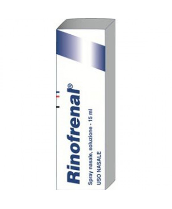 Rinofrenal Spray Nasale Soluzione 15ml - Farmia.it