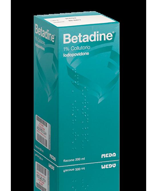 Meda Betadine Colluttorio Flacone Da 200ml -