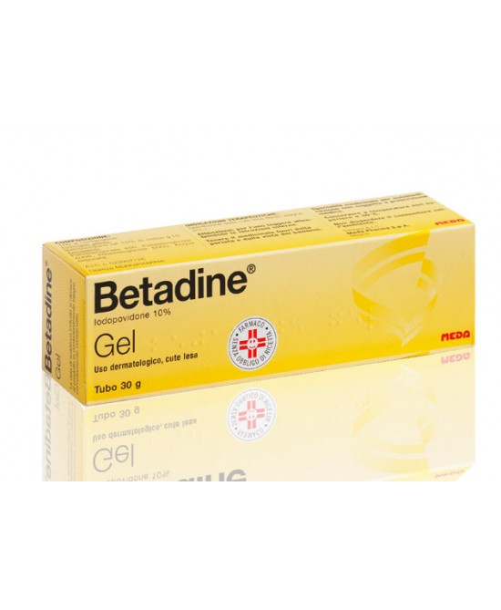 Meda Betadine Gel 30g 10% - Farmafamily.it