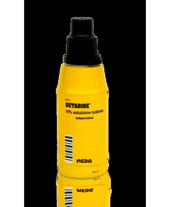 Betadine 10% Iodopovidone Soluzione Cutanea Flacone 50 ml offerta