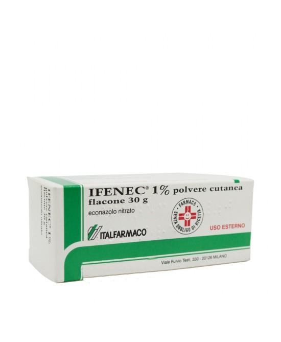 Ifenec 1% Econazolo Nitrato Polvere Cutanea Antimicotica 30g offerta