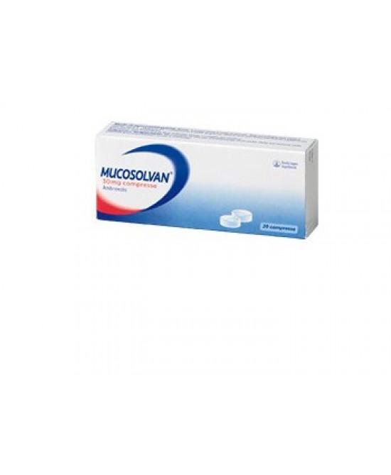 Mucosolvan 30mg 20 Compresse - Farmacia 33