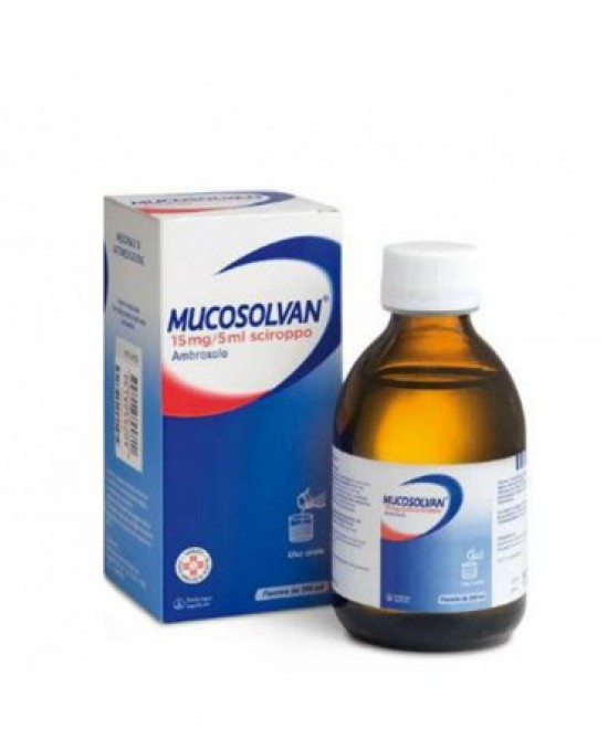 Mucosolvan15mg/5ml Sciroppo 200ml -