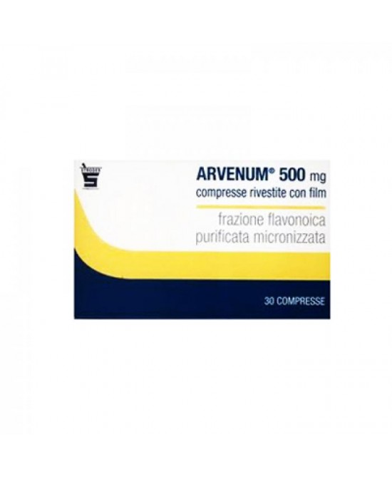 Arvenum 500mg 60 Compresse Rivestite - Farmaci.me