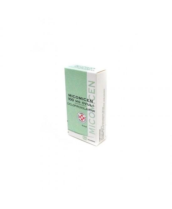Micomicen 100 mg Ciclopiroxolamina 6 Ovuli offerta