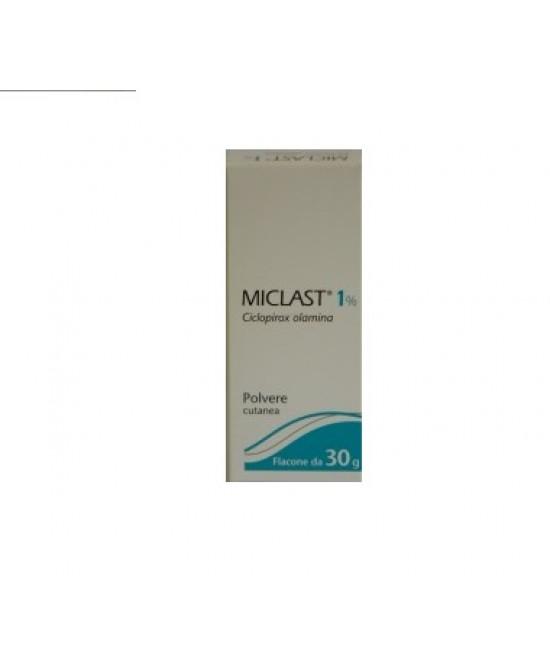 Miclast Polvere Cutanea 1% Ciclopiroxolamina 30g offerta