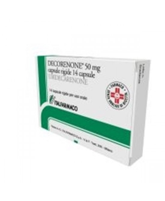 Decorenone 50mg 14 Capsule - FARMAPRIME
