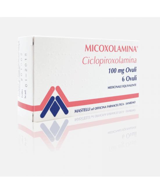 Micoxolamina Ovuli Vaginali 100 mg Ciclopiroxolamina 6 Ovuli Vaginali offerta
