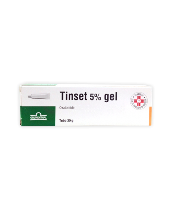 Grunenthal Tinset 5% Gel Per Prurito Ed Irritazioni 30g - Spacefarma.it