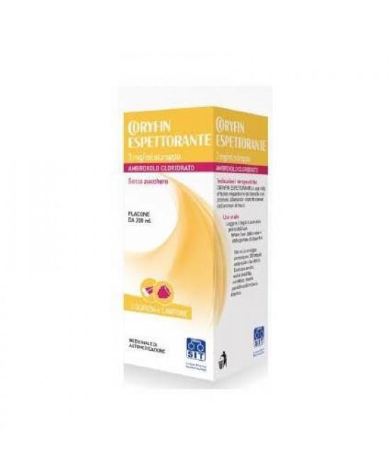Coryfin Espettorante 3 mg/ml Ambroxolo Sciroppo 200 ml offerta