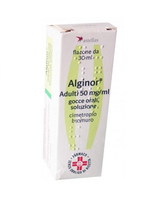 Alginor Adulti 50 mg/ml Gocce 30ml - farmasorriso.com