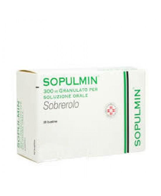 Sopulmin Granulato per Soluzione Orale 300 mg Sobrerolo 20 Bustine offerta