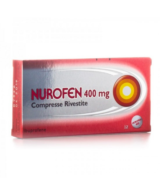 Nurofen Ibuprofene 400 mg 12 Compresse Rivestite - Farmacia 33