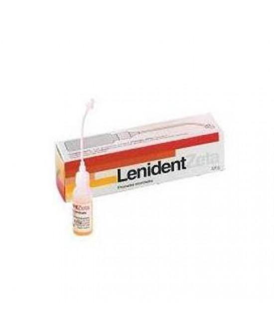 Lenident Zeta Soluzione Dentale Gocce 3,5 g Flaconcino 6 ml