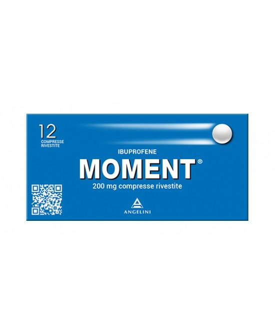 Moment 200mg Ibuprofene 12 Compresse Rivestite - latuafarmaciaonline.it