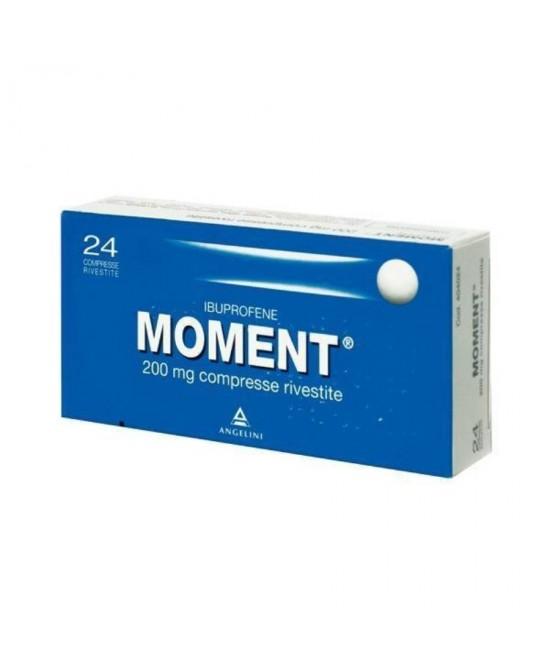 Moment 200mg Ibuprofene 24 Compresse Rivestite - Farmastar.it
