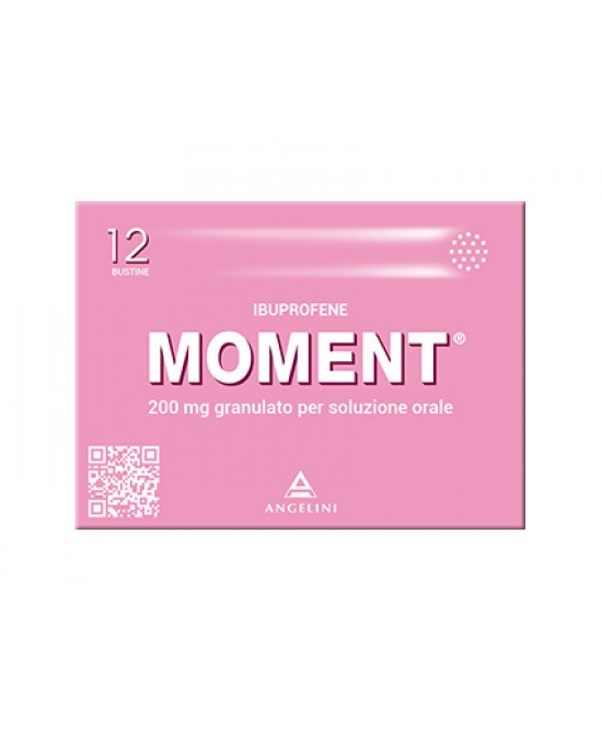 Moment 200mg Granulato Per Soluzione Orale 12 Bustine - Farmafamily.it