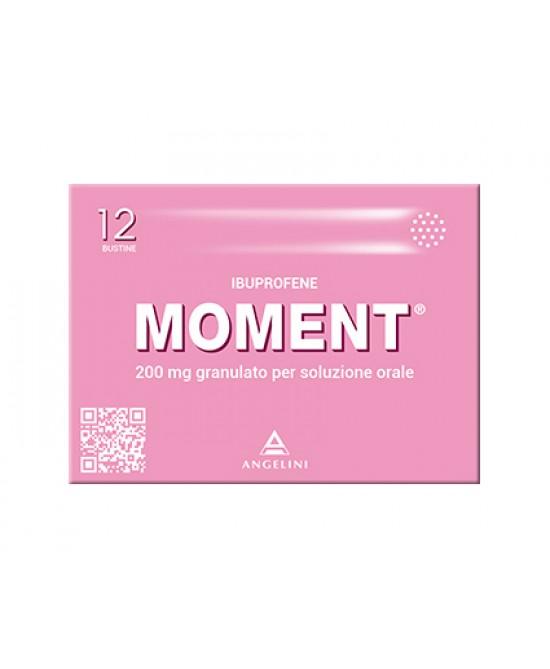 Moment 200 mg Granulato per Soluzione Orale 12 Bustine - Farmalilla