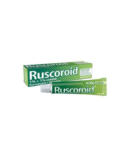 Ruscoroid Crema 1%+1% Crema  40g - Farmacento
