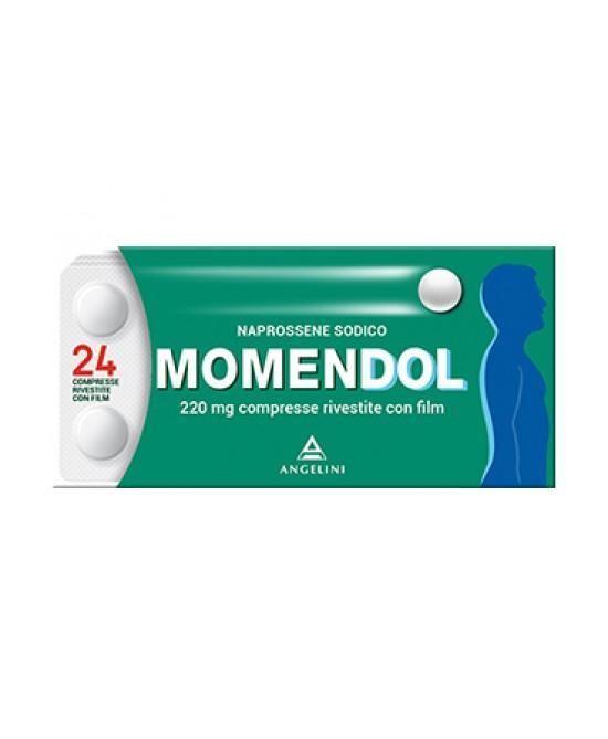MomenDOL 220mg Naprossene Sodico 24 Compresse Rivestite - Farmafamily.it