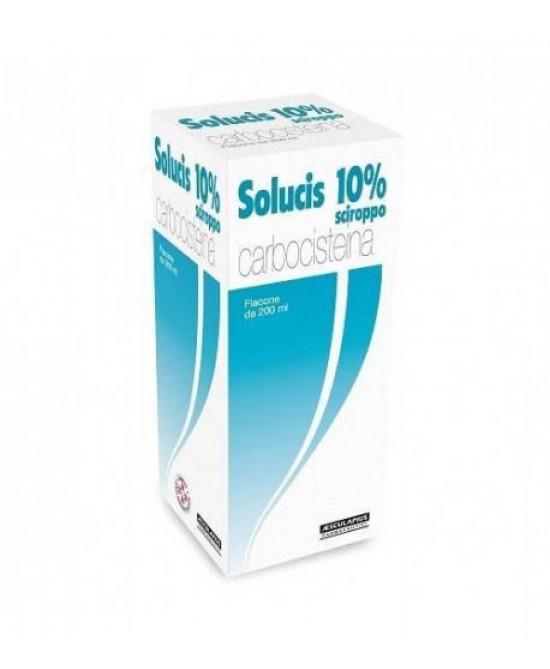Solucis Sciroppo 10% Carbocisteina 200 ml offerta