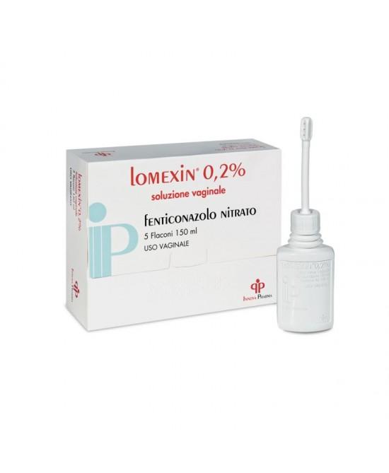 Lomexin 0,2% Lavenda Vaginale 5 Flaconi 150ml - Farmastop