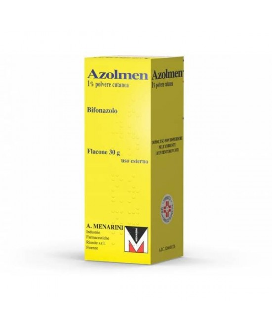 Azolmen Bifonazolo 1% Polvere Cutanea  30g - Farmafamily.it