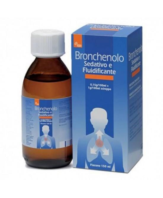 Bronchenolo Sedativo E Fluidificante Sciroppo 150ml - Farmastar.it