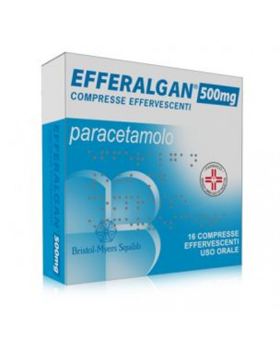 Efferalgan 16 Compresse Effervescenti 500mg - Farmastar.it
