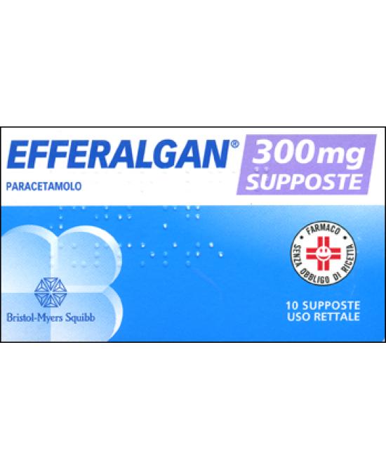 Efferalgan 10 Supposte 300mg - Farmastop