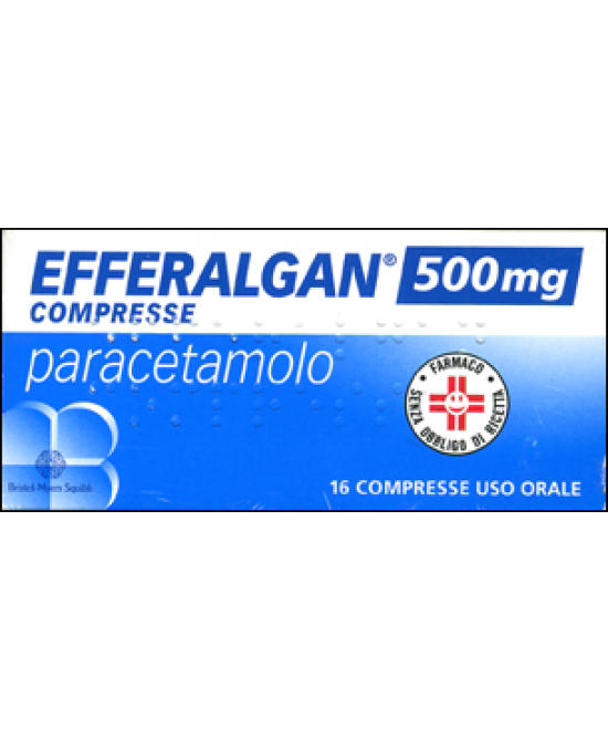 Efferalgan Paracetamolo 16 Compresse 500mg - Farmapc.it