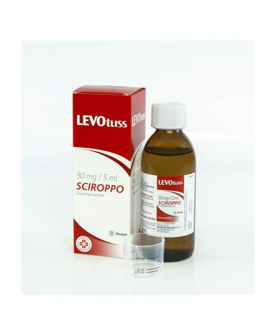 Dompé Levotuss 30mg/5ml Sciroppo Sedativo Della Tosse 200ml - Farmia.it