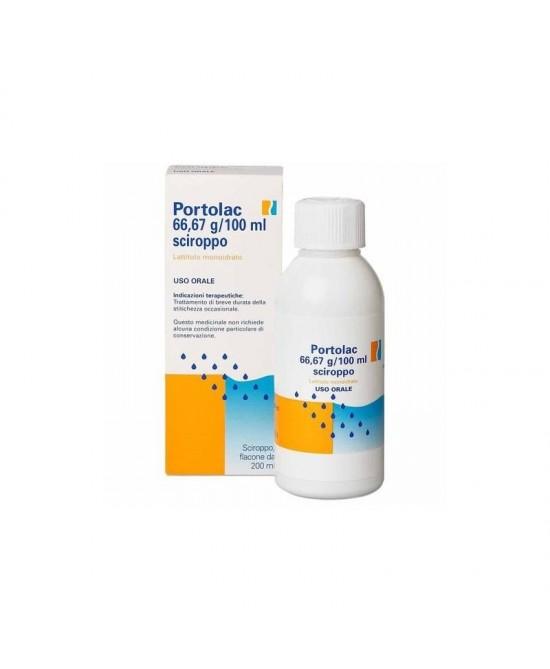 Portolac 66,67 g / 100 ml Sciroppo 200 ml - Farmalilla