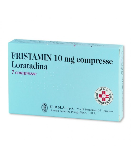 Fristamin 10mg 7 Compresse - Farmacia 33