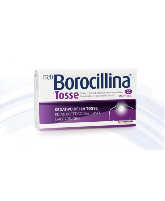 NeoBorocillina Tosse 20 Compresse - Farmia.it