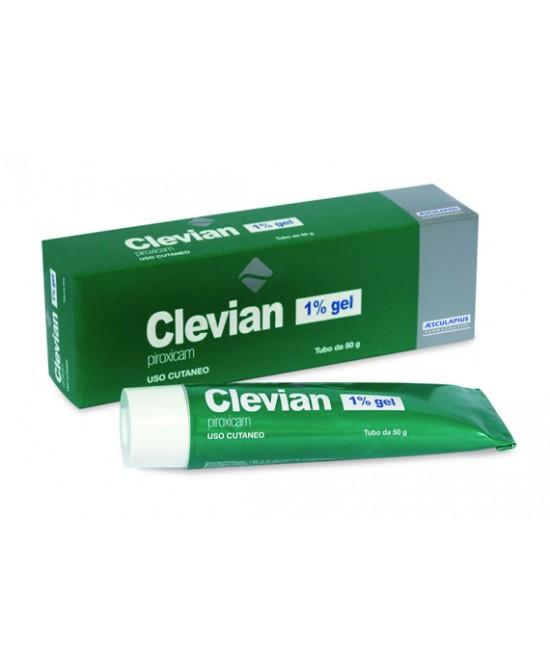 Clevian 1% Gel 50g - Zfarmacia