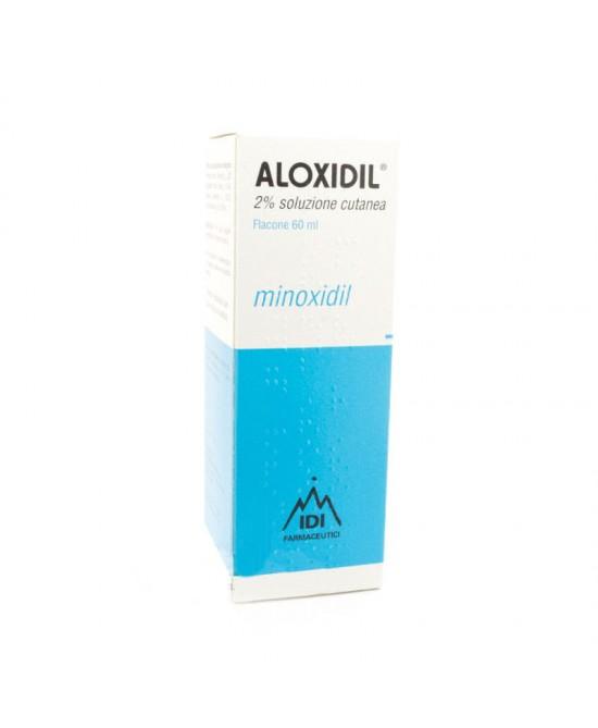 Aloxidil 2% Soluzione Cutanea 60ml - Farmafamily.it